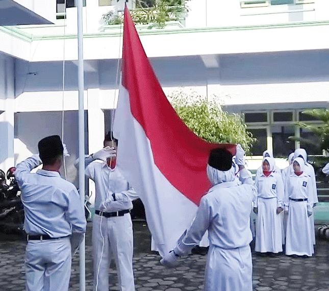 Upacara Peringatan Hari Kemerdekaan Republik Indonesia ke 73